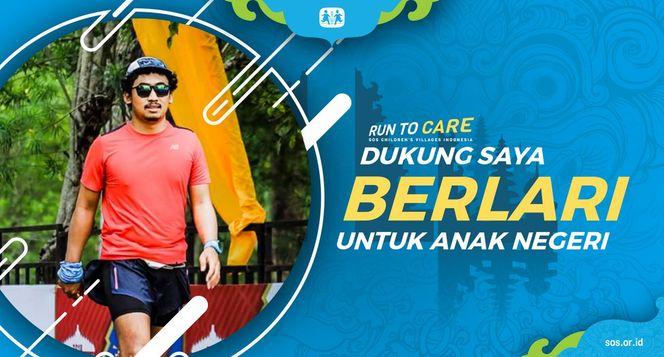 Kevin Berlari 150KM untuk Mimpi Anak Indonesia