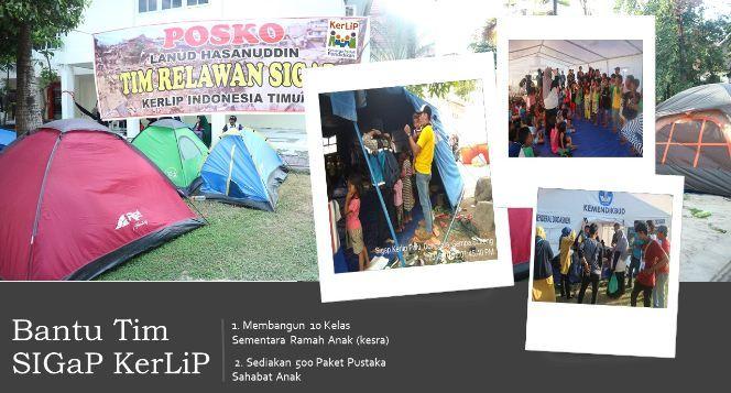 Bantu 125 Relawan SIGAP Bekerja di Donggala Palu