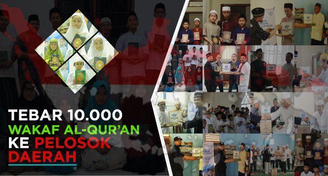 Wakaf 10.000 Mushaf Al-Quran Untuk Bogor