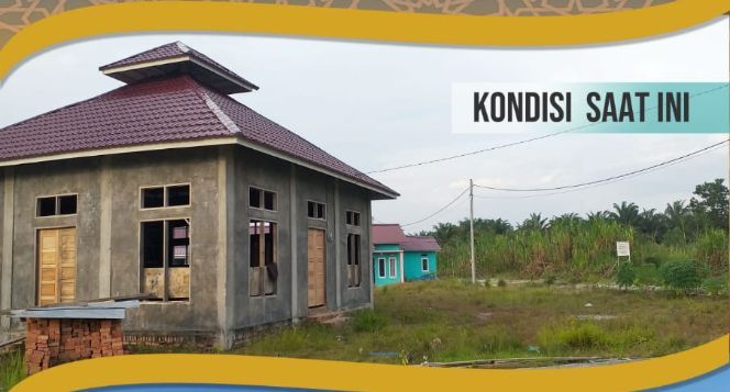 Bantu Pembangunan Musholla Al-Muhtadin Pekanbaru