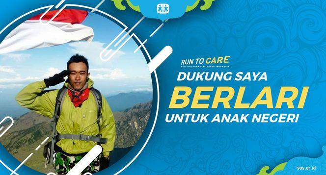 Anggara berlari 150KM untuk Mimpi Anak Indonesia