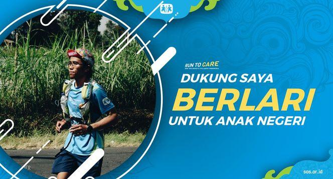 Lemri Berlari 150KM untuk Mimpi Anak Indonesia