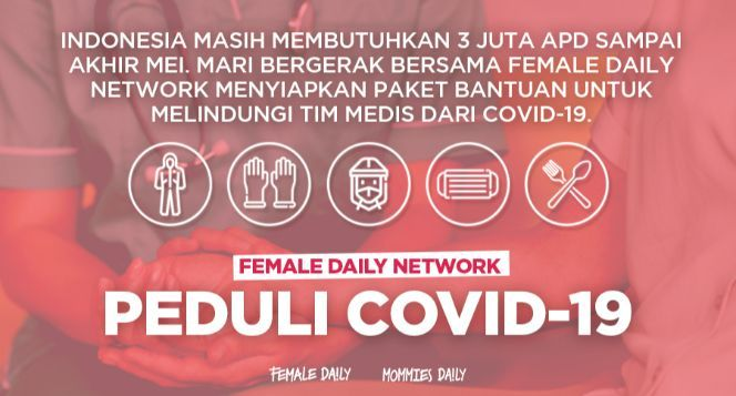 Female Daily For Covid 19