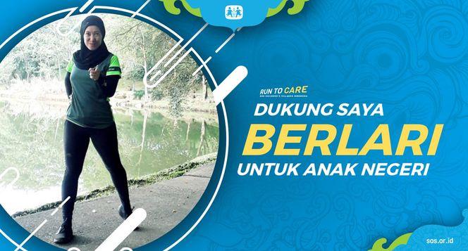 Yurike berlari 150KM untuk Mimpi Anak Indonesia