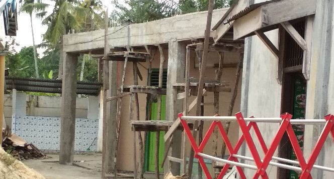 Pembangunan musholla Nurul Ikhlas