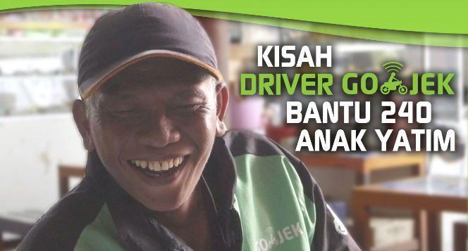 Kisah Para Driver GO-JEK Bantu 240 Anak Yatim