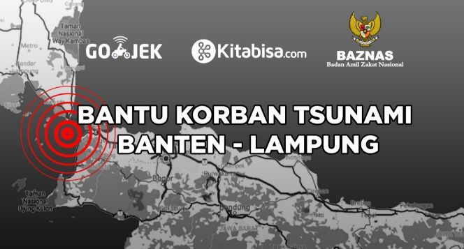 Bersama Bantu Korban Tsunami Banten dan Lampung