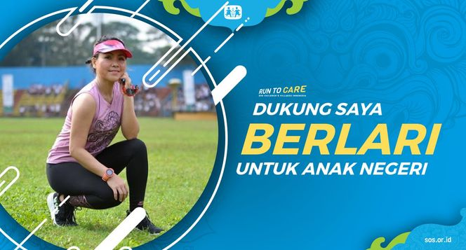 Santih Berlari 150KM untuk Mimpi Anak Indonesia