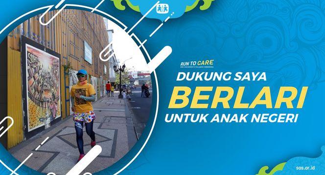 Hanna berlari 150KM untuk Mimpi Anak Indonesia