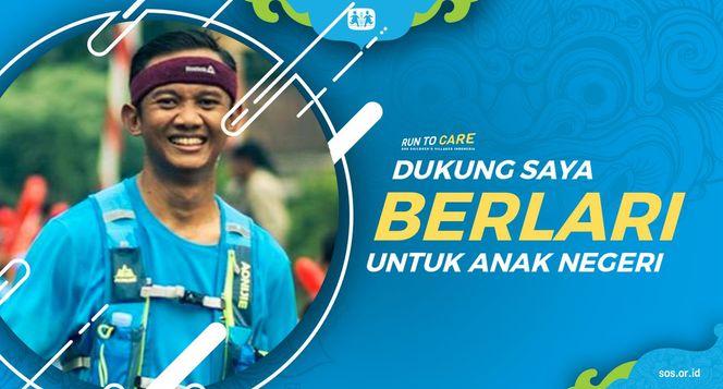 Rayendra berlari 150KM untuk Mimpi Anak Indonesia