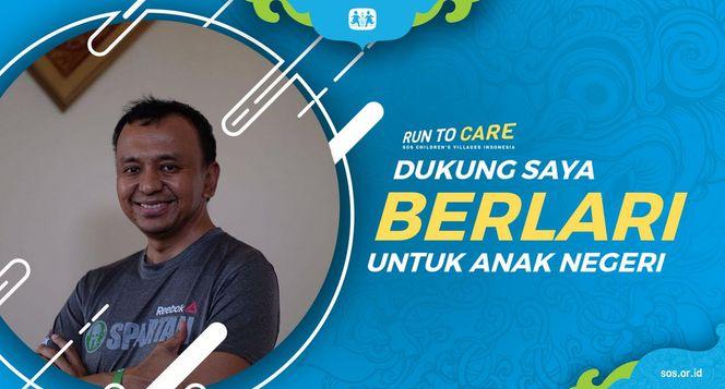 Rais berlari 150KM untuk Mimpi Anak Indonesia