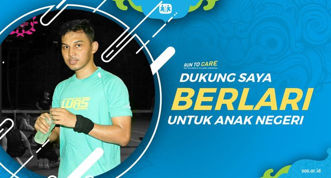 Rizki R berlari 150KM untuk Mimpi Anak Indonesia