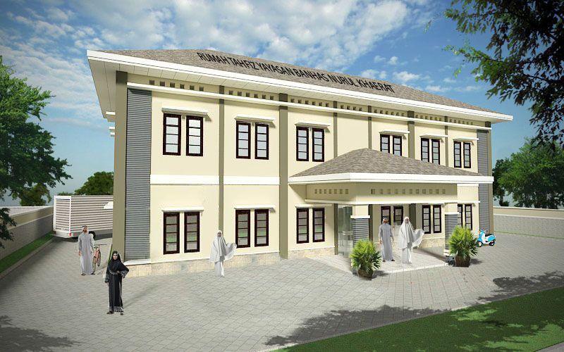 Gambar Rencana Pembangunan Gedung tahfiz